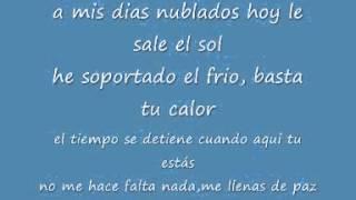 carlitos rossy - enamorado (letra)