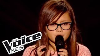 The Voice Kids 2014 | Mélina - Under (Alex Hepburn) | Blind Audition