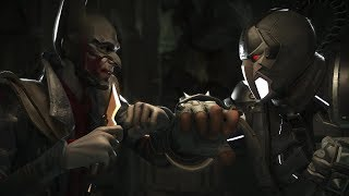 Injustice 2 : Joker Vs Bane - All Intro/Outros, Clash Dialogues, Super Moves
