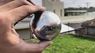 Come trasformare una palla di alluminio in una sfera perfetta | Tutorial