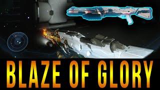 "Halo 5 - Secret Shotgun Location ""Blaze Of Glory"""