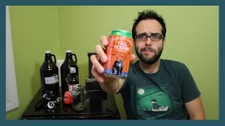 Anderson Valley Fall Hornin' Pumpkin Ale // BREW REVIEWZ