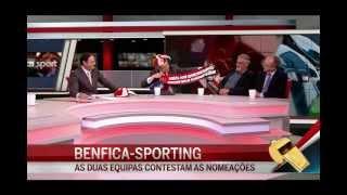 Ribeiro e Castro entra em estágio para o Benfica-Sporting - CM Sport 19-abr-2013