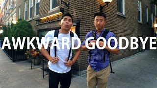 The Awkward Goodbye