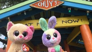 Beanie Boo's: Anabelle & Bloom go to Chuy's! width=
