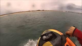 Skrillex + moto de agua