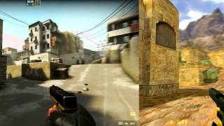 CS:GO vs CS:1.6 - Game  Comparison