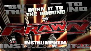 WWE: Burn It To The Ground (Raw Instrumental Theme Song) by Nickelback