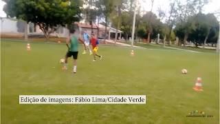 Rômulo e Renê, do Flamengo, treinam no Sul do Piauí