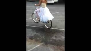 Biking in Heels?