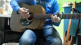 Guitare Liège Yodelice - Sunday with a flu - cover guitar