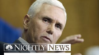 Indiana Governor To Rework Religious Freedom Law | NBC Nightly News