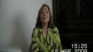 Adélia Pedrosa - vídeo caseiro - Dá-me o Braço, Anda Daí