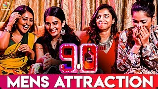 What Attracts Men To Women ? : 90ML Girls Reveals | Team Interview | Oviya
