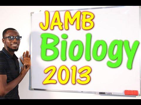 JAMB CBT Biology 2013 Past Questions 1 - 25