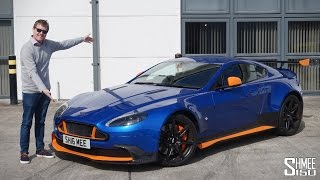 How Hard is Driving the Aston Martin GT8?