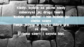 Sylwia Grzeszczak i Liber - czern i biel lycris