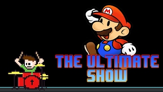 Super Paper Mario - The Ultimate Show (Drum Cover) -- The8BitDrummer