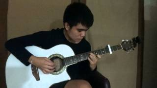 Guilty Crown OST Release My Soul ( Feat. Aimee ) - Omo ( Guitar Solo / Fingerstyle )