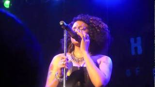 "Marsha Ambrosius Performing ""Your Hands"" Live"