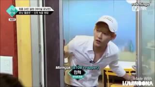 BTOB Minhyuk sunbae & Unit Yellow(BOYS24) - YOLO!