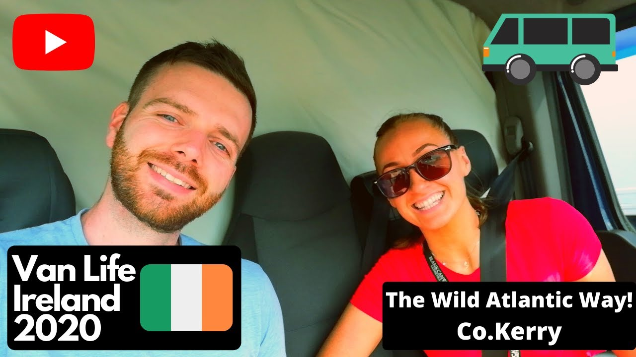 VAN LIFE IRELAND Kerry adventure on the Wild Atlantic Way 2020