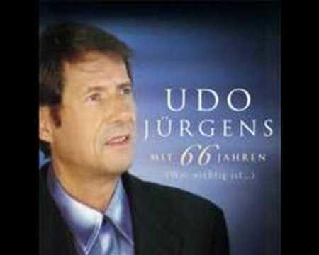 Mit 66 Jahren de Udo Jurgens Letra y Video