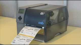 Cab seia A+  przemysłowe drukarki etykiet (model A6+)