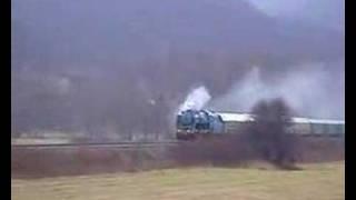 Historický vlak v Bylnici