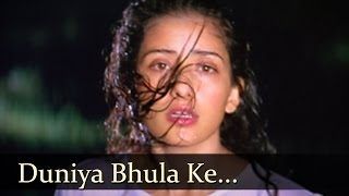 Duniya Bhula Ke - Govinda Romantic Songs - Manisha Koirala - Achanak - Alka Yagnik & Kumar Sanu