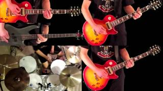 It's So Easy Guns N' Roses Guitar Bass and Drum Cover
