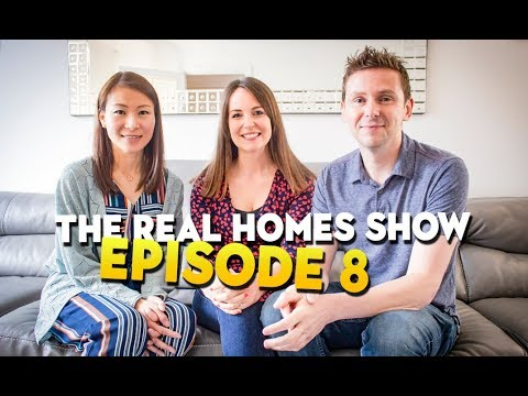Small bathroom storage ideas and modern kitchen extensions: Real Homes Show Ep.8