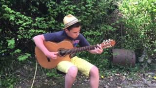 Rainbow in the Dark - Dio - Billy Watman Flamenco guitar