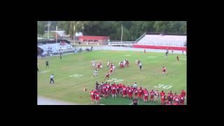 Red/White Game (80 yard run)
