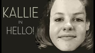 "Kallie Keasler Presents: Hello (Clip from ""Hawk Flock News"" Episode 8)"