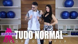 Tudo Normal - Mc Maneirinho | Casal Dance | Coreografia