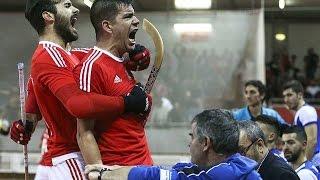 Benfica 6-4 Porto Hoquei em Patins ultimo minuto