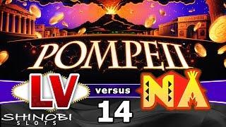 Las Vegas vs Native American Casinos Episode 14: Pompeii Slot Machine + Bonus Wins
