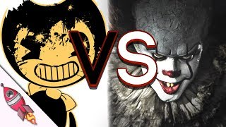 Bendy and the Ink Machine vs IT Movie Rap Battle | Bendy VS Pennywise | Rockit Gaming