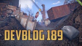 Devblog 189 | RUST en Español | Construcción 3.0, decaimiento, chatarrería y quarrys