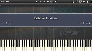 【遊☆戯☆王VRAINS (Yu-Gi-Oh! VRAINS)】 Believe In Magic「Piano (Synthesia)」