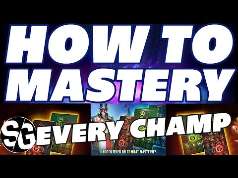 RAID SHADOW LEGENDS | HOW TO MASTERY ALL YOUR CHAMPS | CHAMPION MASTERIES | MASTERY GUIDE RAID