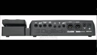 Digitech RP355 Metal Demo