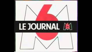 Générique du journal M6 JT (1987)