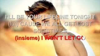 Justin Bieber ft. Major Lazer - Cold Water - Karaoke con testo