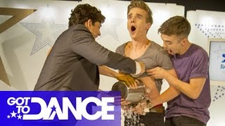 ThatcherJoe Gets a Chilly Willy! | Got To Dance: Backstage Live 2014