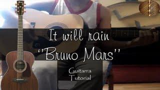 "It will rain ''Bruno Mars'' - Guitarra Tutorial ""Seabroth"""