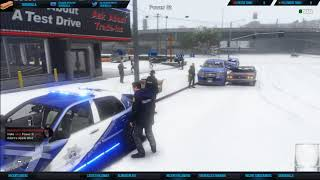 Snowball fight! Green Leaf Gaming RP Server