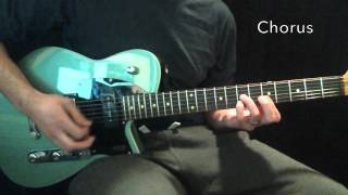 """Real Love"" Hillsong Young & Free Lead Guitar Tutorial"