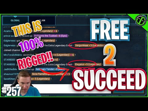 This Double Lego Event Is RIGGED | Free 2 Succeed - EPISODE 257